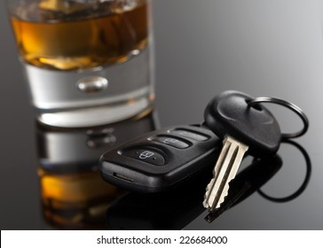 Car Keys and Alcoholic Drink