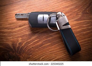 Car keys composing gun shape