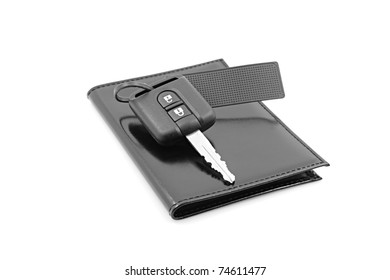 car keys and documents