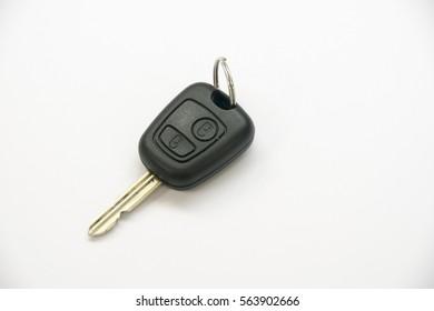 car keys isolated