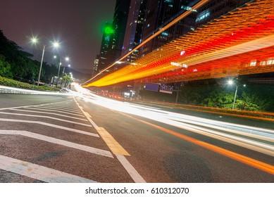 Car light in shenzhen, China