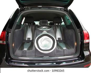 car luxury audio system