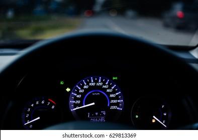 Car mile   Low fuel