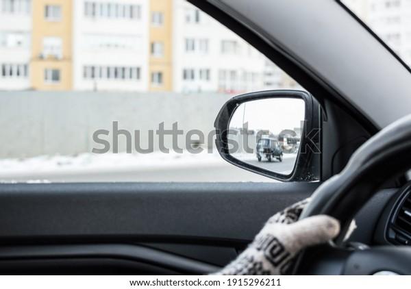 car-mirror-view-window-city-600w-1915296