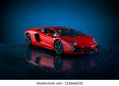 car model of Lamborghini