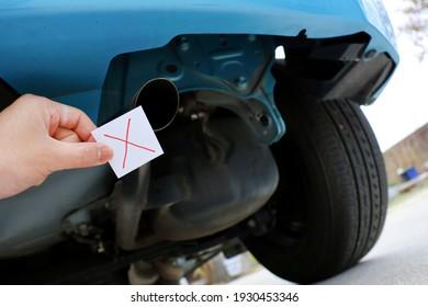 Car muffler. Regulations on gasoline vehicles.