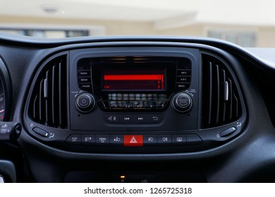 car multimedia and lighting control buttons