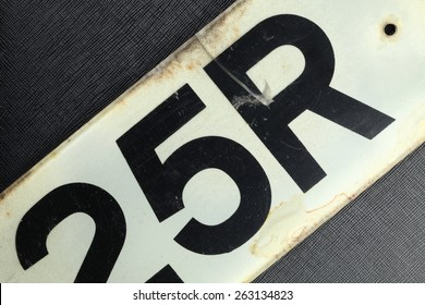 Car number plate style normal use in UK represent the car concept related idea.