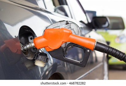 The car on a filling station