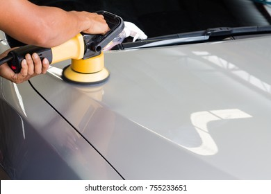 Car painting polishing and from small scratches