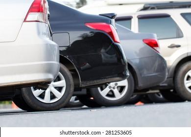 Car park in parking lot
