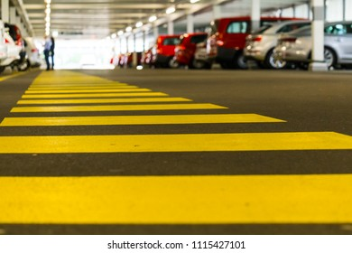 Car Park Pedestrian Way