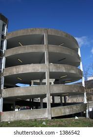 Car park spiral ramp