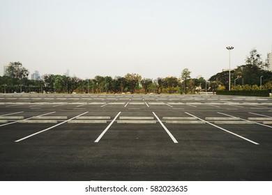 car park and street