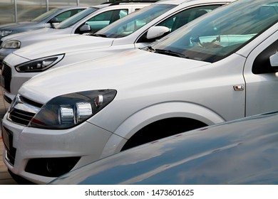 car parked up and on display for sale at a car show stock image no people stock photo