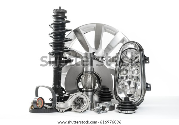 Autoteile, Ersatzteile, Zubehör für Autos. Fahrzeugteile wie Bremsscheibe, Wasserpumpe, Scheinwerfer, Stoßdämpfer, V-Gürtel ...