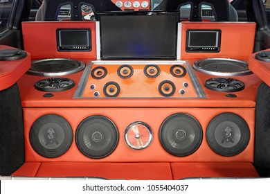 car powerful audio system custom