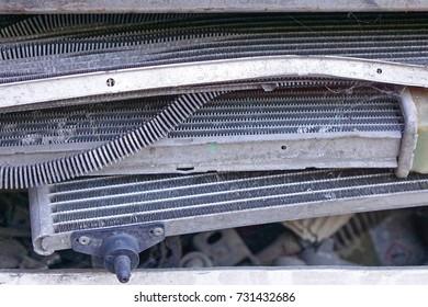 Car radiator parts aluminum for recycling
