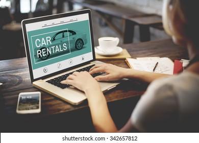 Car Rentals Rental  Transportation Concept