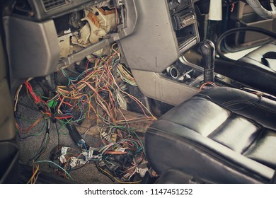 car repair electric wiring system 260nw 1147451252 wiring harness for car images, stock photos & vectors shutterstock