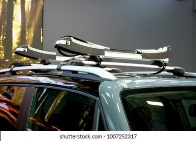 car roof rack transporting equipment