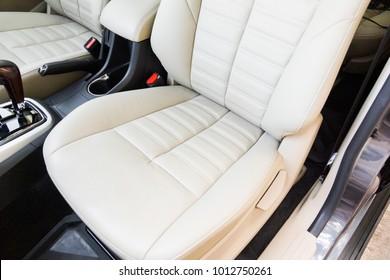 Car seats at the front row