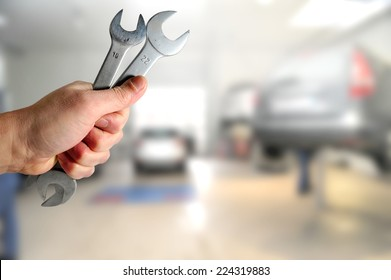 car servicing centre