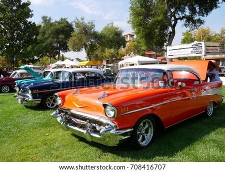 Car Show California Sep Stock Photo Edit Now - Paso robles car show