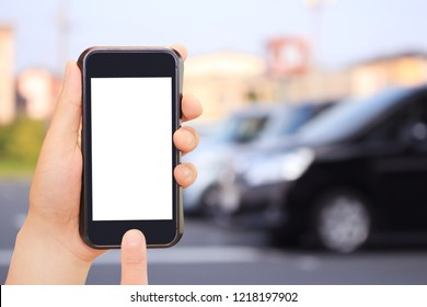 Car and smartphone