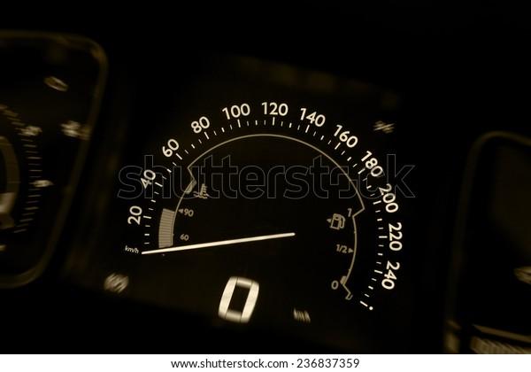 car speed board