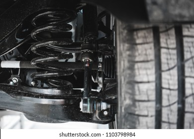 car suspension. parts.