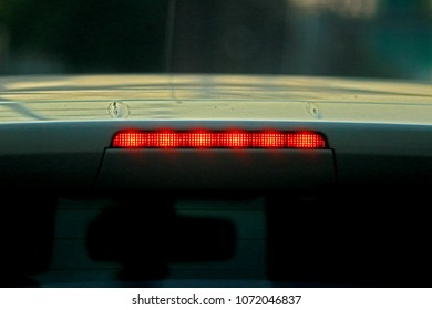Car taillight texture