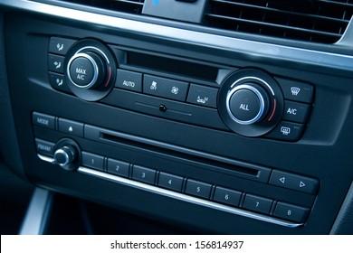 Car Temperature and Audio Controls