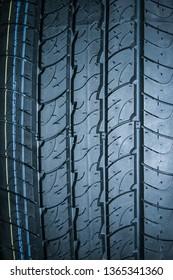Car tires for car background