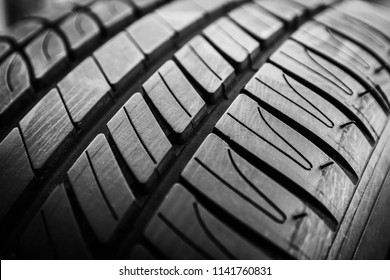 Car tires and wheels for auto background
