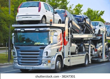 car transport truck