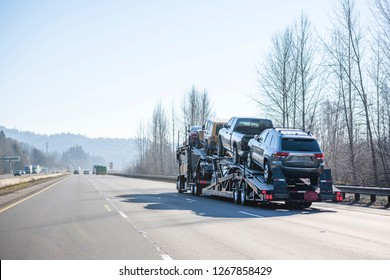 Car transportation by big rig semi truck allows all dealerships to ensure uninterrupted sale of new and used cars ensuring consumer demand in any state of America. Trucks carry out the main freight