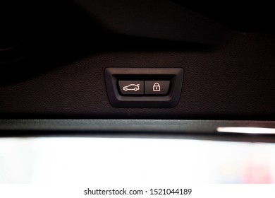 car trunk sign button auto switch for open close and lock .
