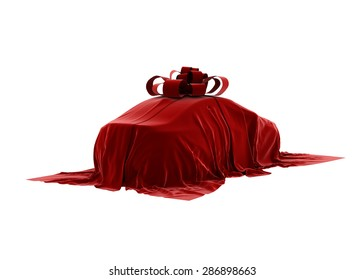 The car under the cover. The secret cars. 3D.