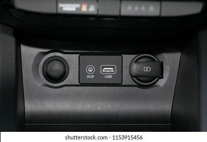 car usb socket, car interior