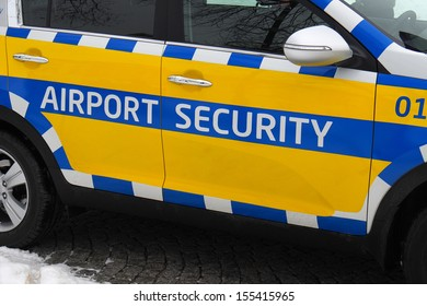 Car used by airport security