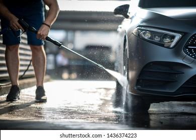 Auto in Autowaschen