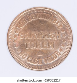 Car wash Token -  Non-refundable 1 dollar token for 2 minutes worth of hand car washing.