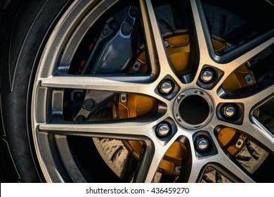 Car wheel - Sport car