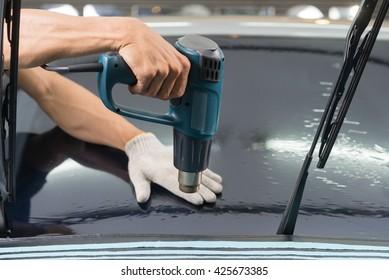 Car window tinting series : Heat shrinking car window film