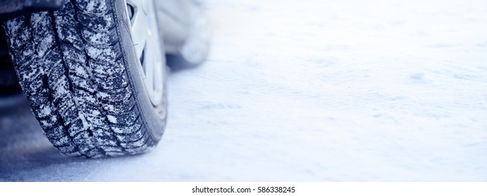 the car in winter
