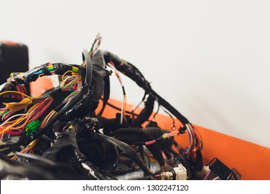 Brilliant Wiring Harness For Car Images Stock Photos Vectors Shutterstock Wiring Cloud Hisonuggs Outletorg