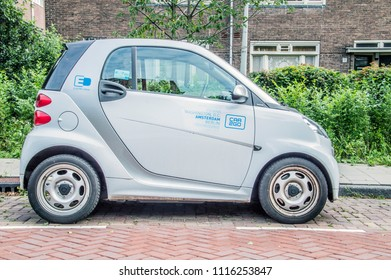 Car2Go At Amsterdam The Netherlands 2018