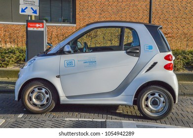 Car2Go Car At Amsterdam The Netherlands 2018