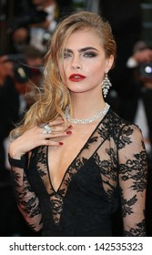 Cara Delevingne at the 66th Cannes Film Festival - Opening ceremony and Great Gatsby premiere, Cannes, France. 15/05/2013